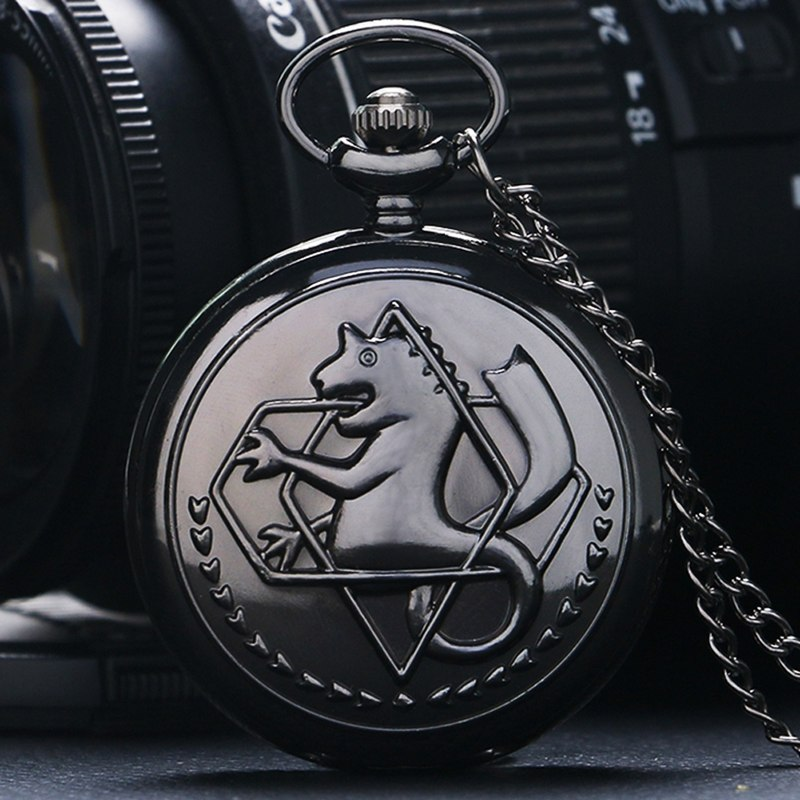 Fullmetal Alchemist Edward Pocket Watch - otakuuu